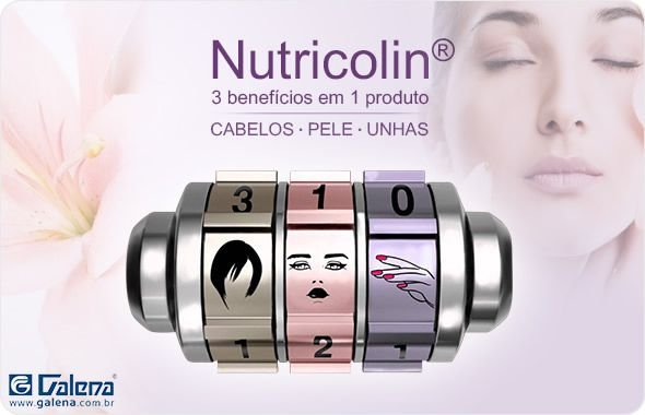 Nutricolin +Oli-Ola Suplemento para rejuvenescimento e uniformização da pele