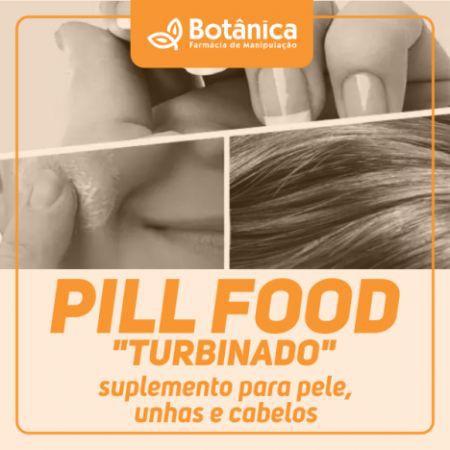 """PILL FOOD """"TURBINADO""""  suplemento  para pele, unhas e cabelos"""