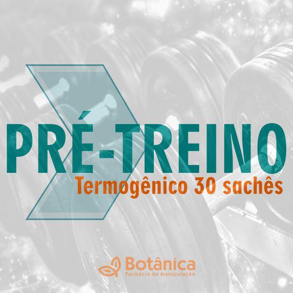 Pré- Treino Termogênico 30 sachês