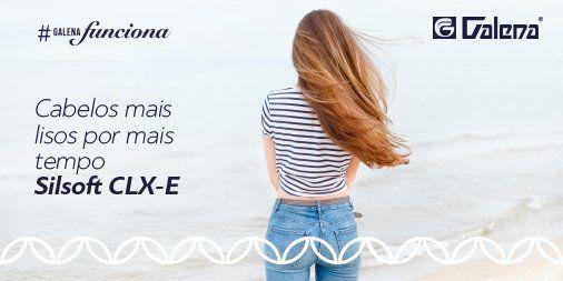 Shampoo de Silsoft CLX-E Cabelos lisos com efeito prolongado 150ml