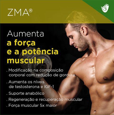 ZMA 60 cápsulas - aumenta força e potência  muscular