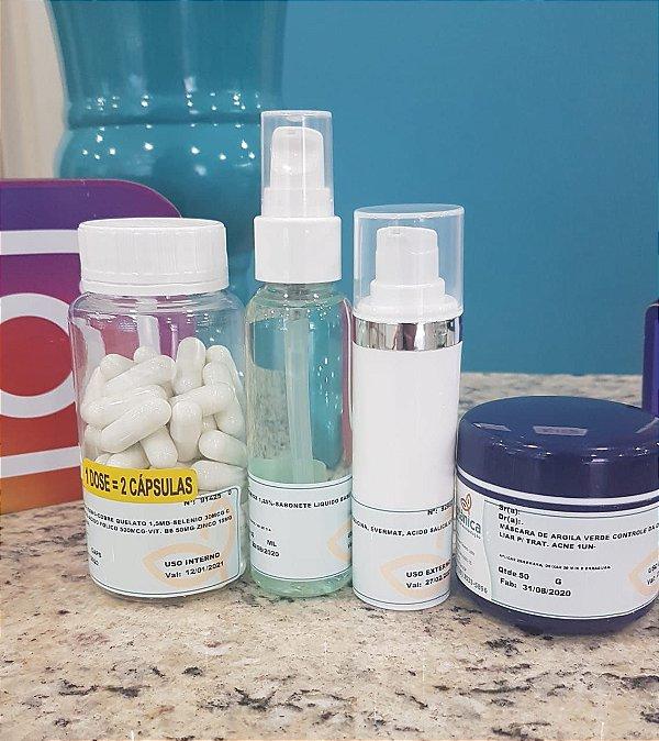 Kit anti- acne com 20% desconto