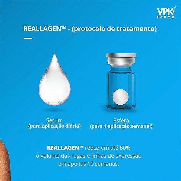 Kit Reallagen - Booster Biomético Sérum e 4 Esferas de colágeno