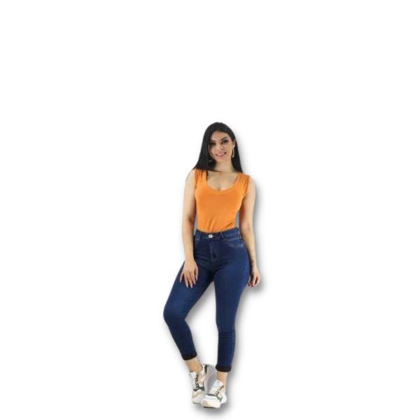 Calça Jeans Skinny Feminina Naraka