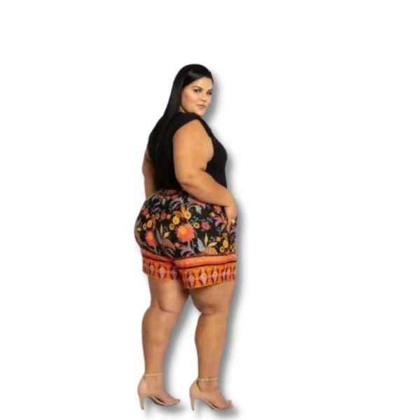 Bermuda Meia Coxa Plus Size Do  46 Ao 60
