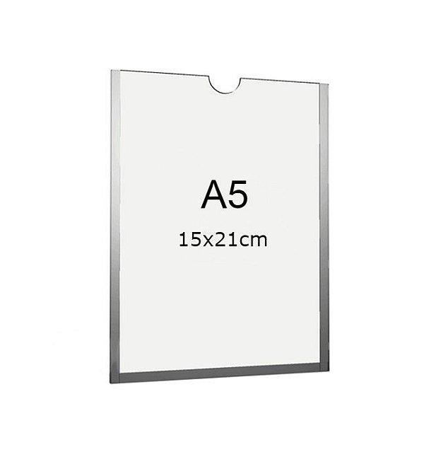 Display A5 de Acrílico para Parede sem fundo (15x21cm)