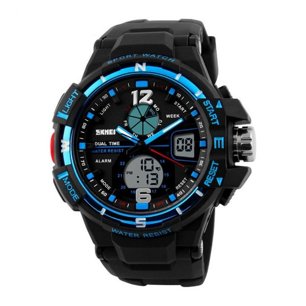Relógio Masculino Skmei AnaDigi 1148 - Preto e Azul