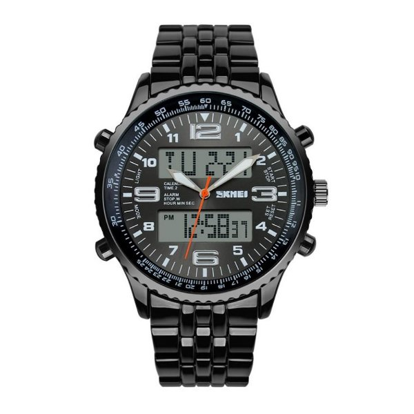 Relógio Masculino Skmei Anadigi 1032 Preto