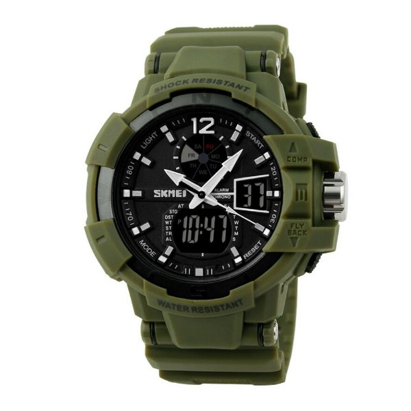 Relógio Masculino Skmei AnaDigi 1040 - Verde