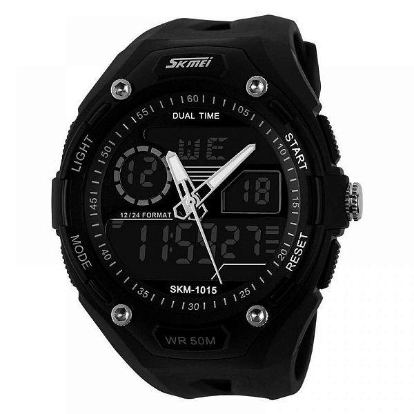 Relógio Masculino Skmei AnaDigi 1015 - Preto