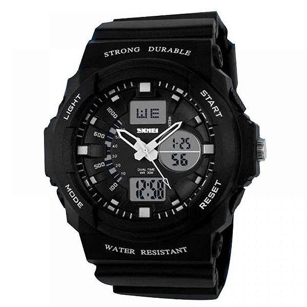 Relógio Masculino Skmei AnaDigi 0955 - Preto