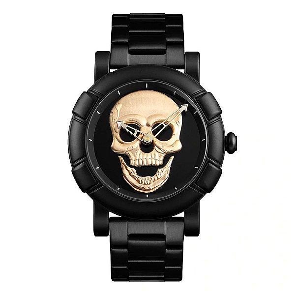 Relógio Masculino Skmei Analógico 9178 - Preto
