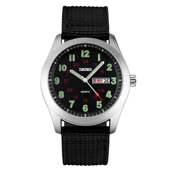 Relógio Masculino Skmei Analógico 9112 - Preto e Prata