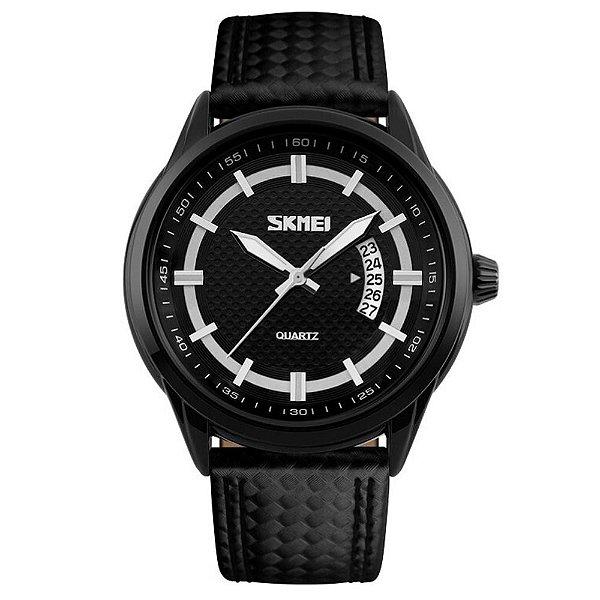 Relógio Masculino Skmei Analógico 9116 - Preto e Branco