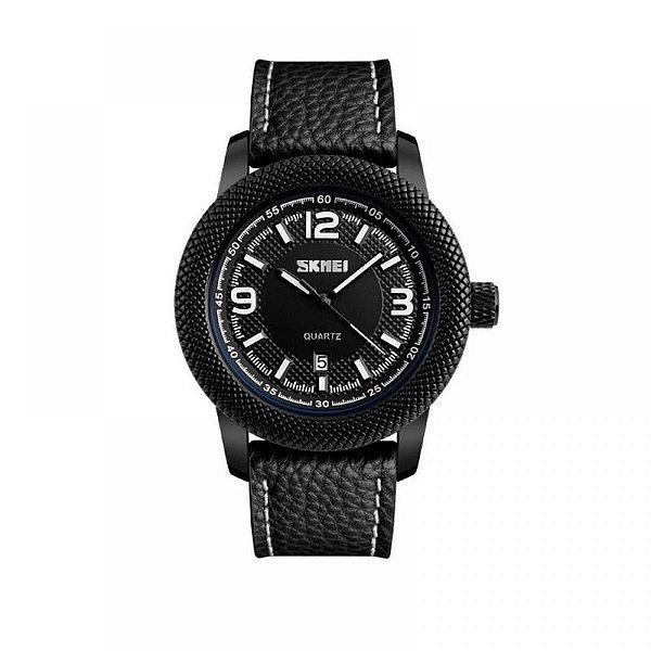 Relógio Masculino Skmei Analógico 9138 - Preto e Branco
