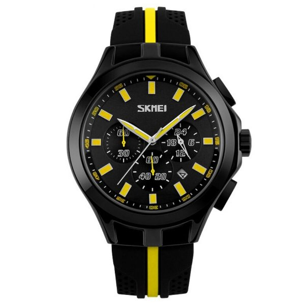 Relógio Masculino Skmei Analógico 9135 Amarelo