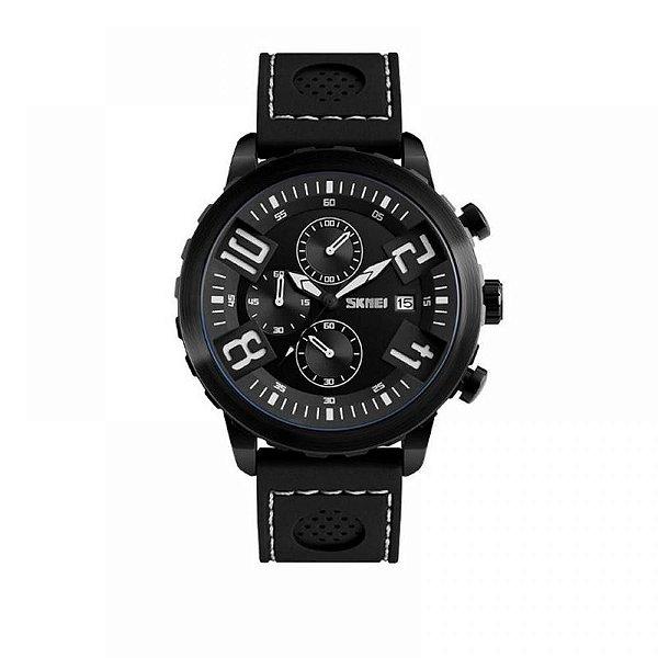 Relógio Masculino Skmei Analógico 9153 Branco