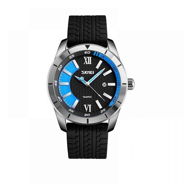 Relógio Masculino Skmei Analógico 9151 Azul