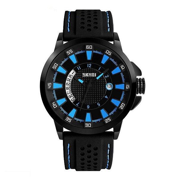 Relógio Masculino Skmei Analógico 9152 Azul