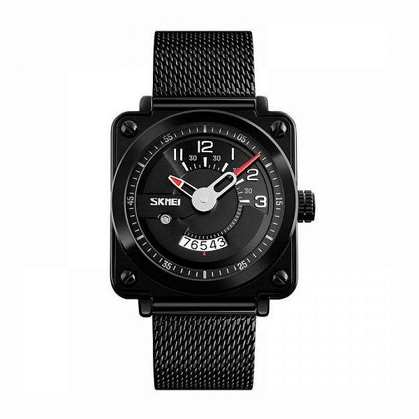 Relógio Masculino Skmei Analógico 9172 Preto