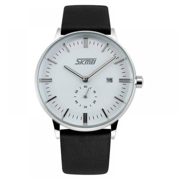 Relógio Masculino Skmei Analógico 9083 Preto e Branco