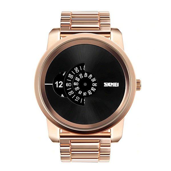 Relógio Masculino Skmei Analógico 1171 Dourado