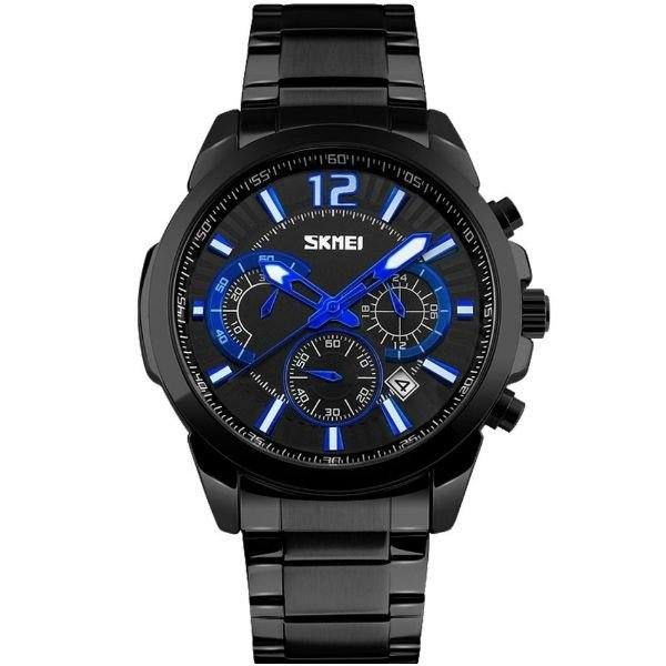 Relógio Masculino Skmei Analógico 9108 - Preto