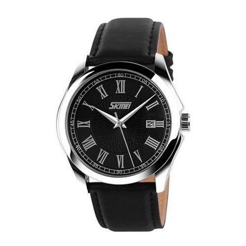 Relógio Masculino Skmei Analógico 9076 - Preto