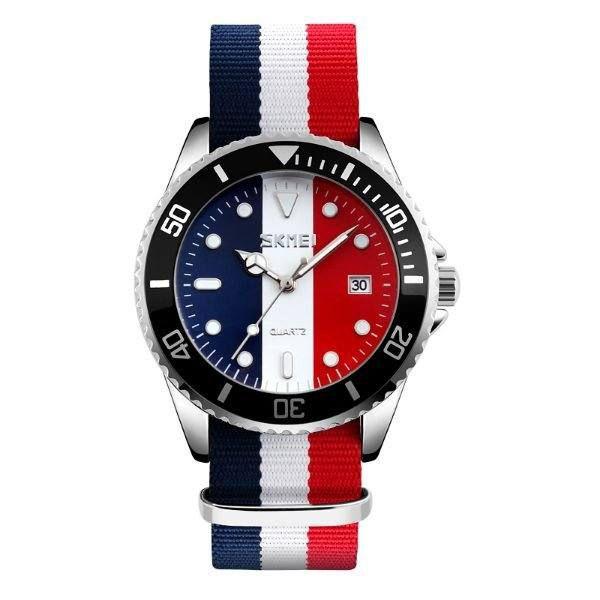 Relógio Masculino Skmei Analógico 9133 Branco