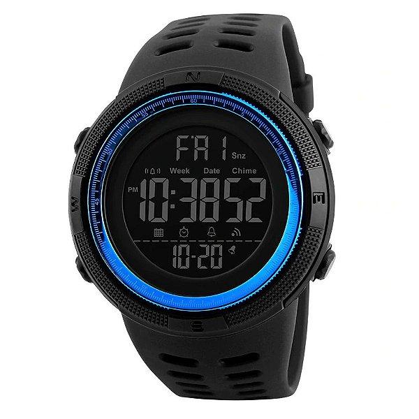 Relógio Masculino Skmei Digital 1251 - Preto e Azul