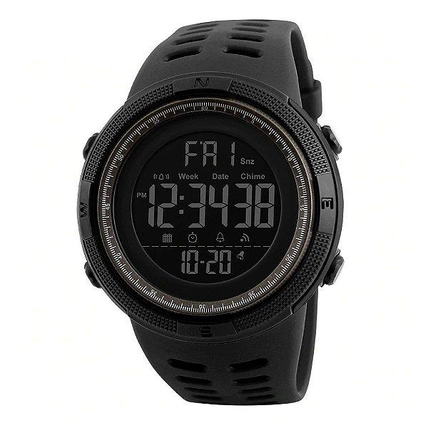 Relógio Masculino Skmei Digital 1251 - Preto e Marrom