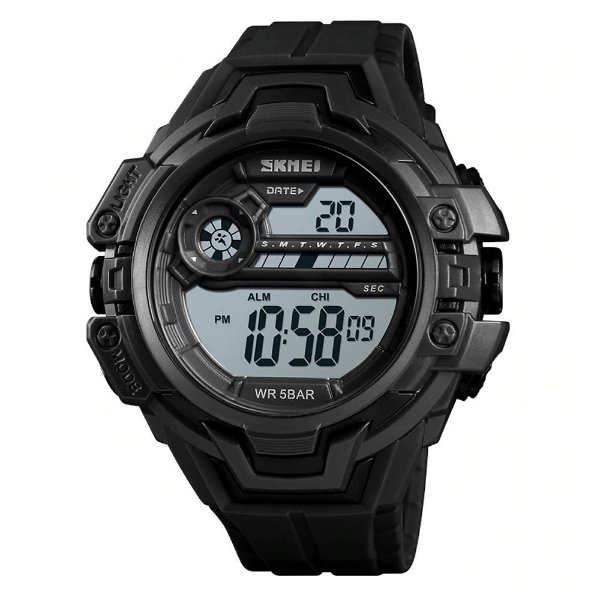 Relógio Masculino Skmei Digital 1383 - Preto