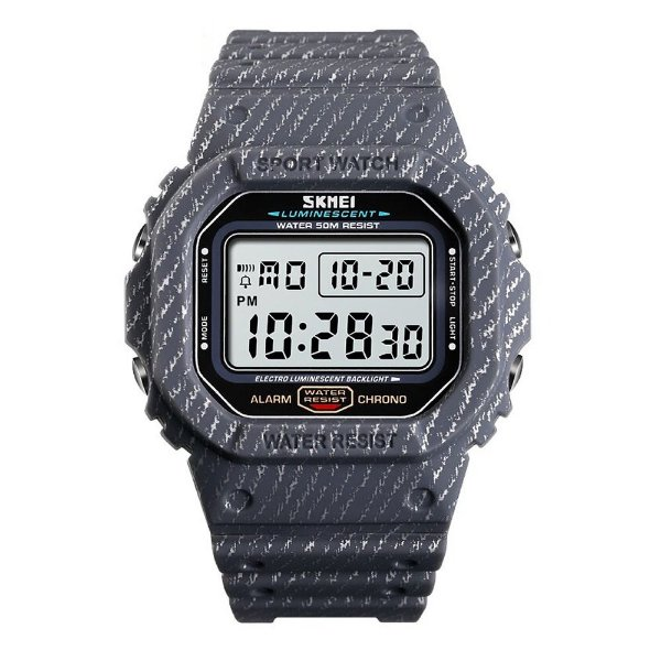 Relógio Masculino Skmei Digital 1471 - Cinza