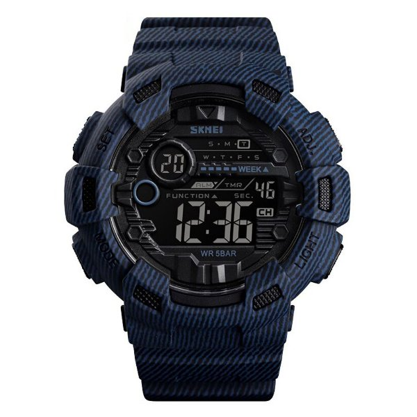 Relógio Masculino Skmei Digital 1472 - Azul e Preto