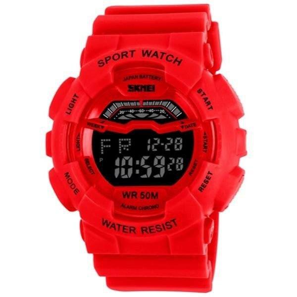 Relógio Masculino Skmei Digital 1118 - Vermelho