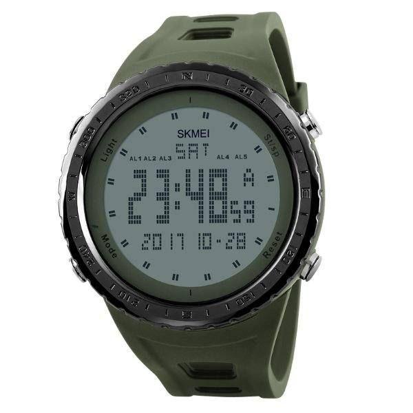 Relógio Masculino Skmei Digital 1246 - Verde e Preto