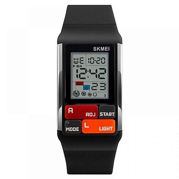 Relógio Masculino Skmei Digital 1276 - Preto