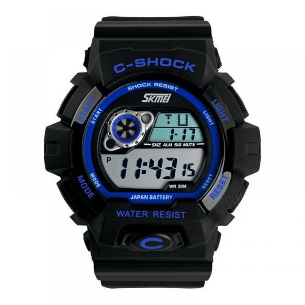 Relógio Masculino Skmei Digital 1007 Azul