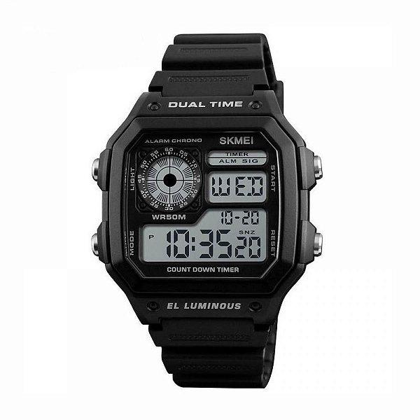 Relógio Masculino Skmei Digital 1299 Preto