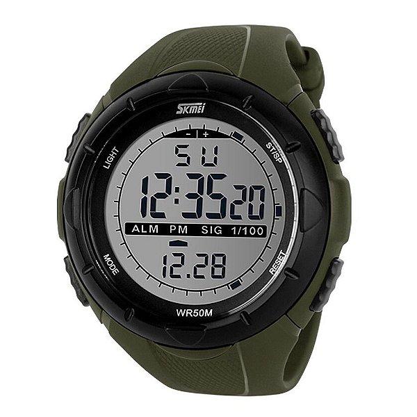 Relógio Masculino Skmei Digital 1025 - Verde