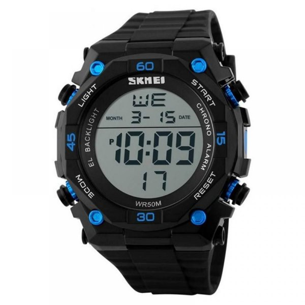 Relógio Masculino Skmei Digital 1130 - Preto e Azul
