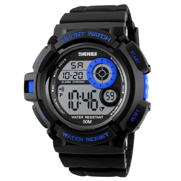 Relógio Masculino Skmei Digital 1222 - Preto e Azul