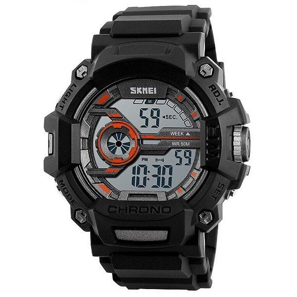 Relógio Masculino Skmei Digital 1233 Cinza