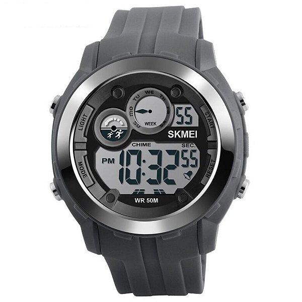 Relógio Masculino Skmei Digital 1234 - Cinza