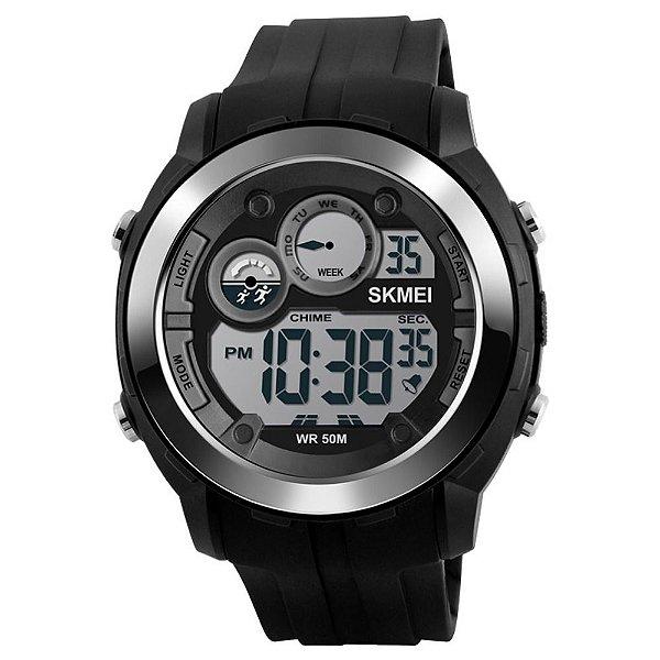 Relógio Masculino Skmei Digital 1234 - Preto