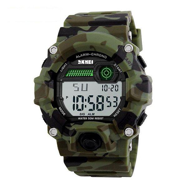 Relógio Masculino Skmei Digital 1197 - Camuflado
