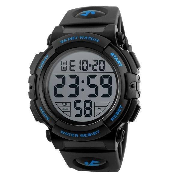 Relógio Masculino Skmei Digital 1258 - Preto e Azul