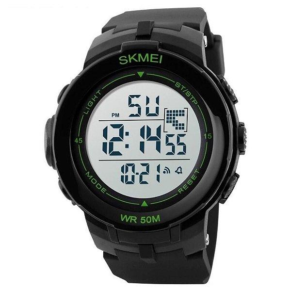 Relógio Masculino Skmei Digital 1127 - Preto e Verde