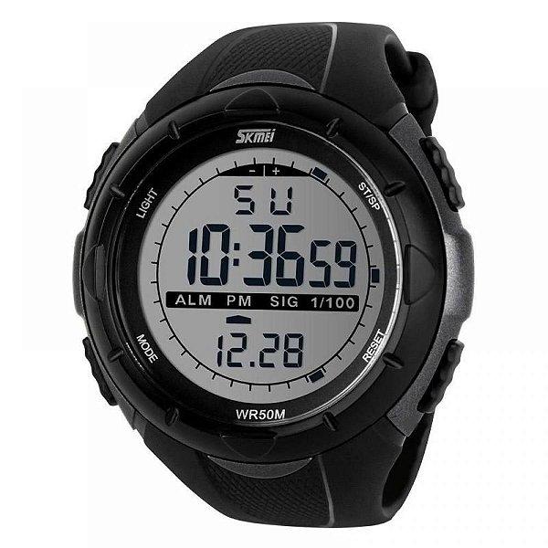 Relógio Masculino Skmei Digital 1025 - Preto e Cinza