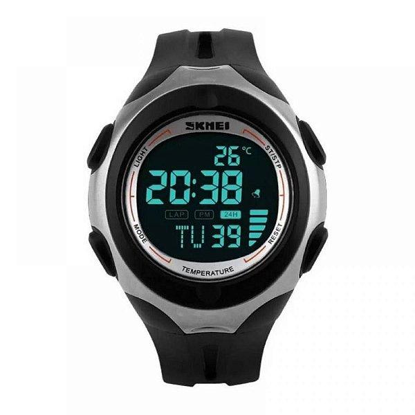 Relógio Masculino Skmei Digital 1080 - Preto e Prata